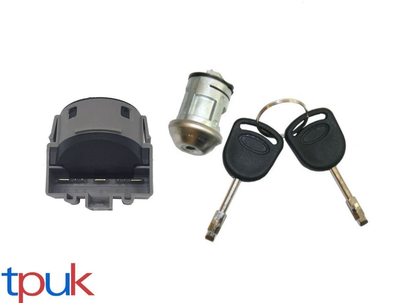 Ignition Switch Lock Barrel With 2 Keys Ford Transit Connect Ebay 2013 Wiper Wiring Diagram