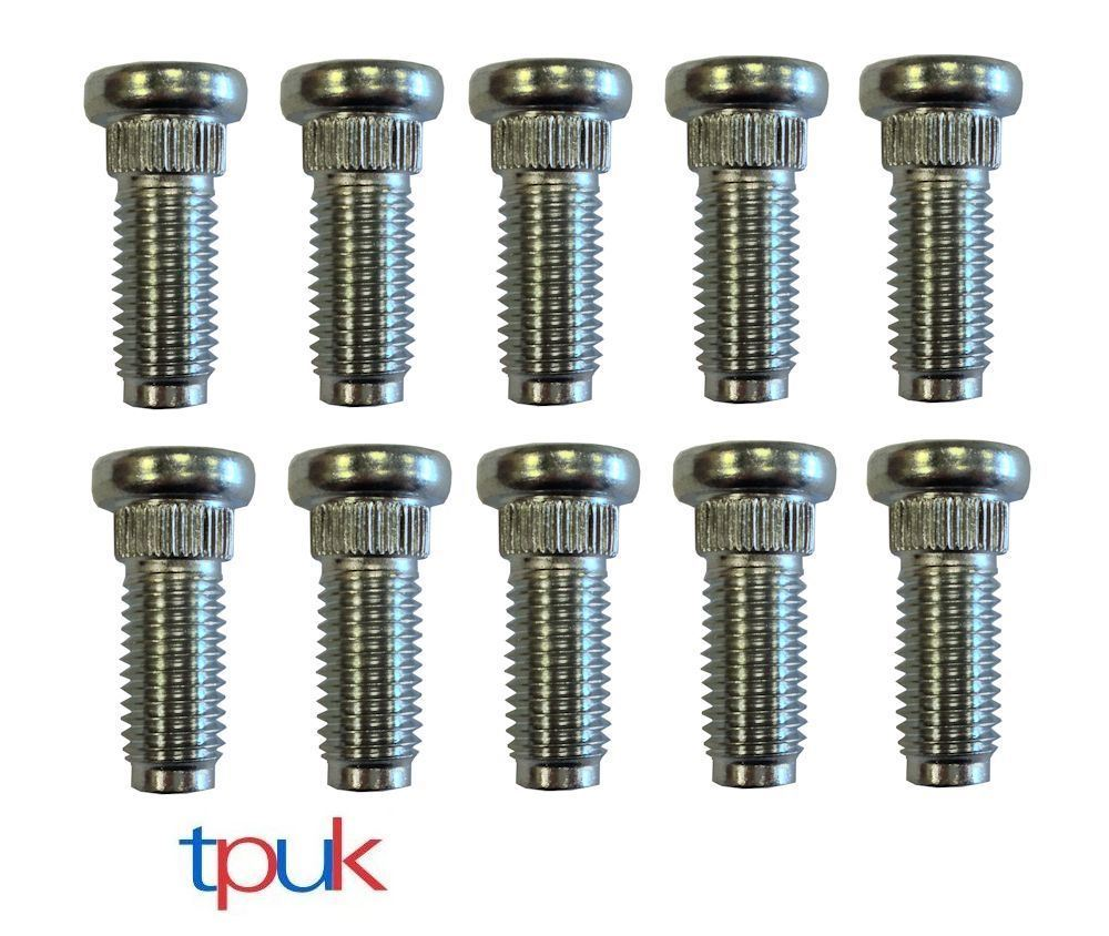 TRANSIT MK6 FRONT WHEEL STUDS M14 X 37 SET OF 5 SINGLE WHEEL ONLY 4424984
