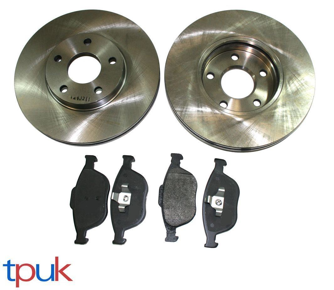 FORD TRANSIT CONNECT 1.8 16V TDCI REAR BRAKE DISCS AND PADS 2002-2013 CHECK