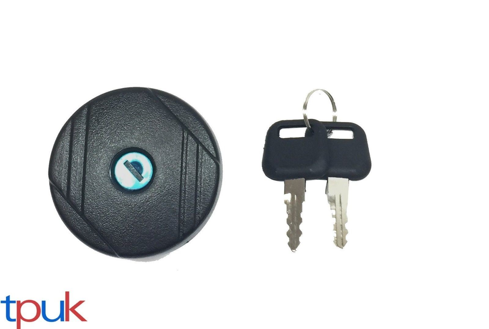 X AUTOHAUX Fuel Petrol Locking Gas Tank Cap W// 2 Key for 00-19 Ford Transit MK6 MK7 4411620