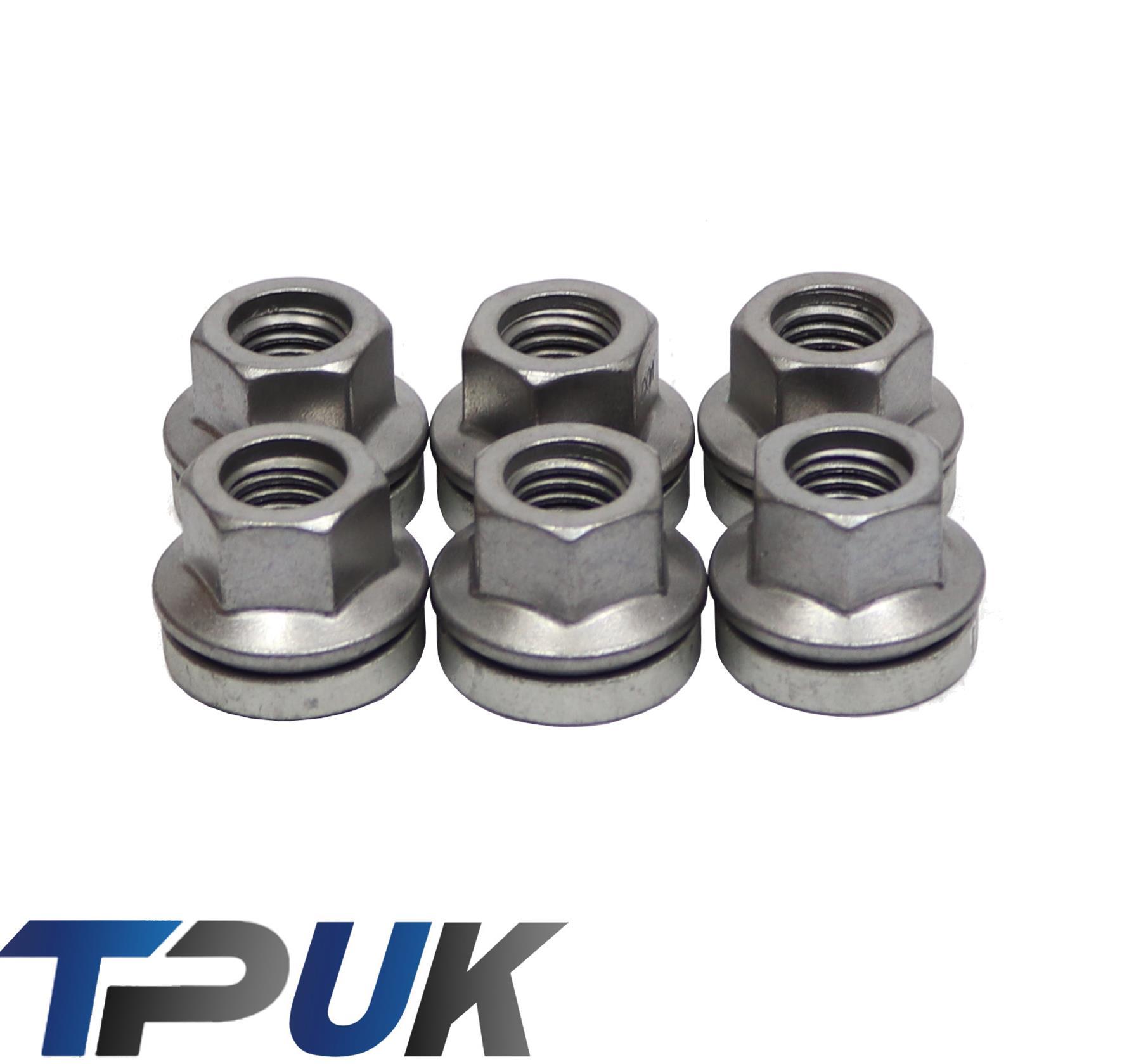 alloy wheel nuts bolts M14x2 21mm Hex Flat Seat Chrome caps Ford Transit x 20