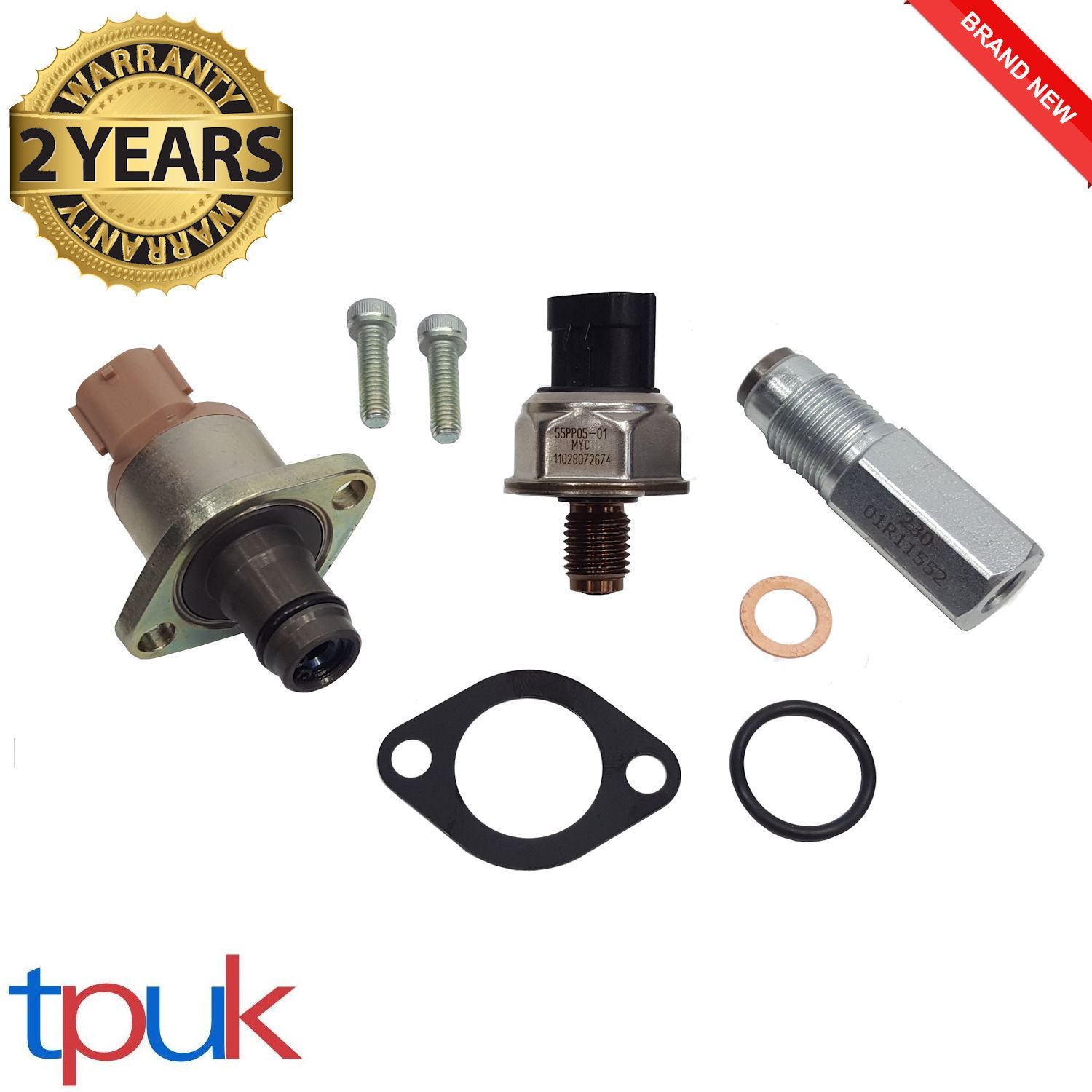 FORD TRANSIT MK7 FUEL RAIL HIGH PRESSURE REGULATOR SENSOR 2.4 RWD TDCI MYB