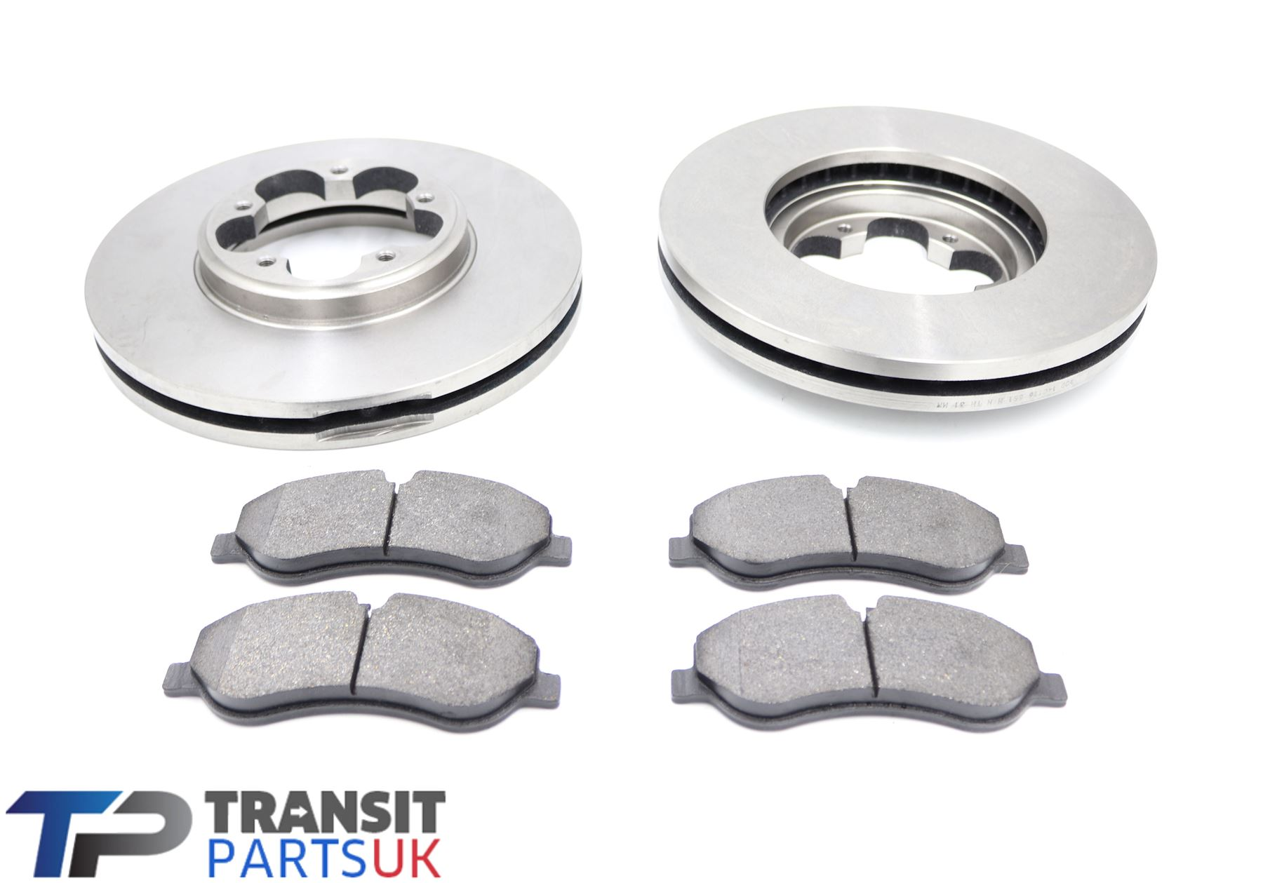 Transit Parts Transit MK7 2.2 FWD Rear Discs And Pads Pair 2006 On Complete Set