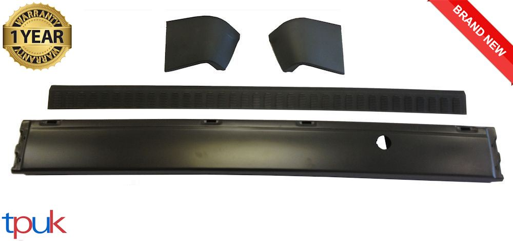 END CAPS 2002-2013 FORD TRANSIT TOURNEO CONNECT REAR BUMPER AND BUMPER COVER