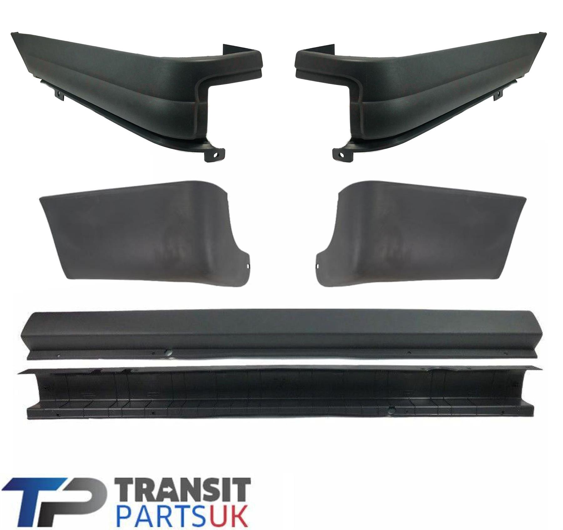 Ford Transit Connect MKI Pare-chocs arrière /& embouts /& Cover 2002-2013 Brand new O.E