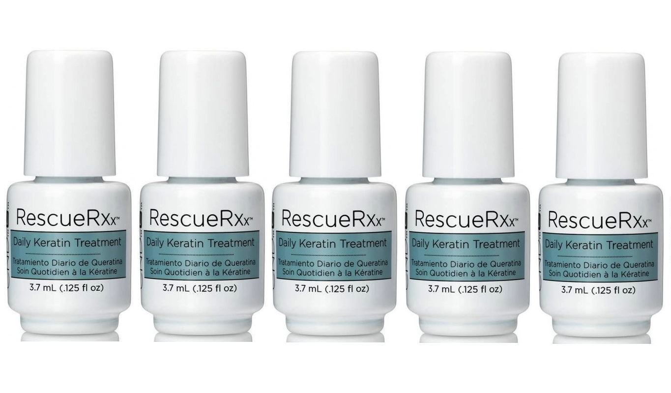 CND RESCUE RXx Daily Keratin Nail Treatment - Different Quantities ...