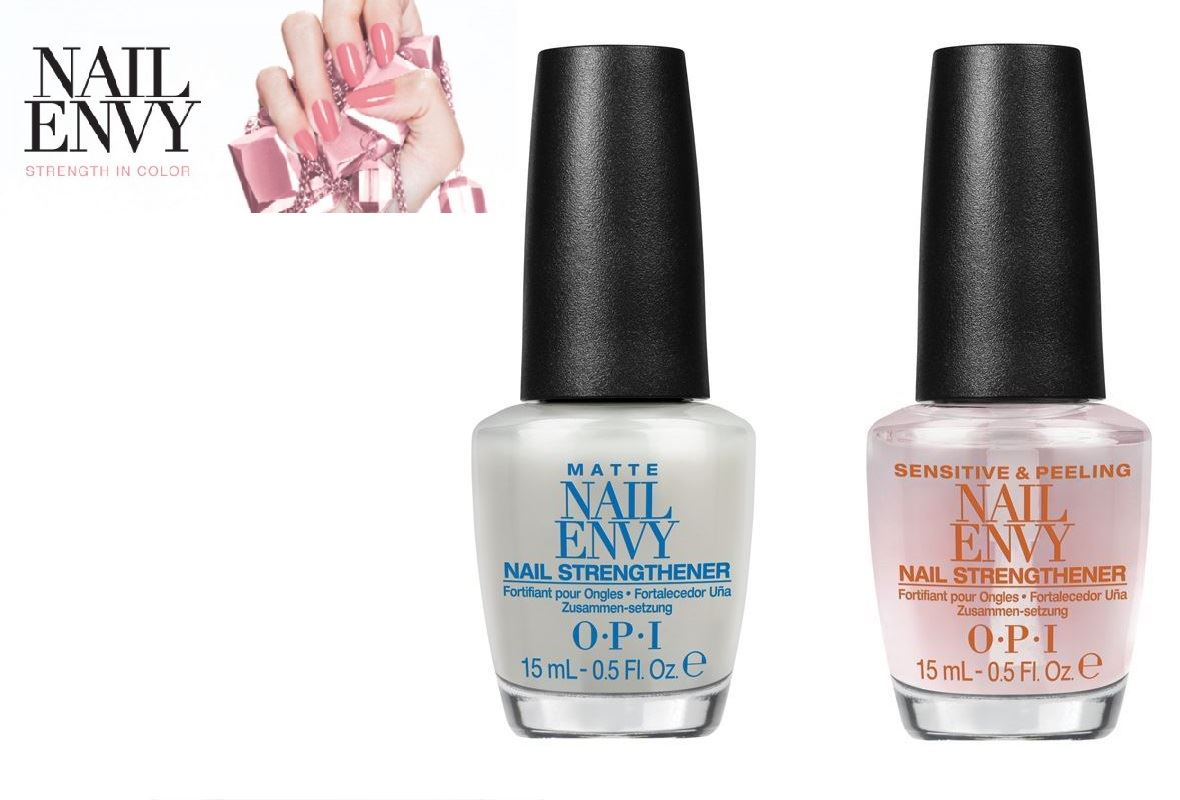 OPI Nail Envy Matte 15ml + Sensitive & Peeling 15ml | Nail Treatment ...