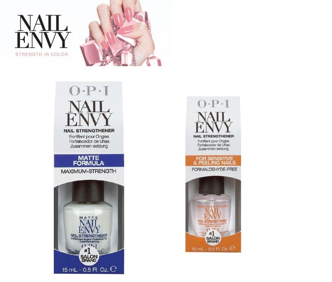 Old Fashioned Opi Nail Envy Matte Formula Composition - Nail Art ...