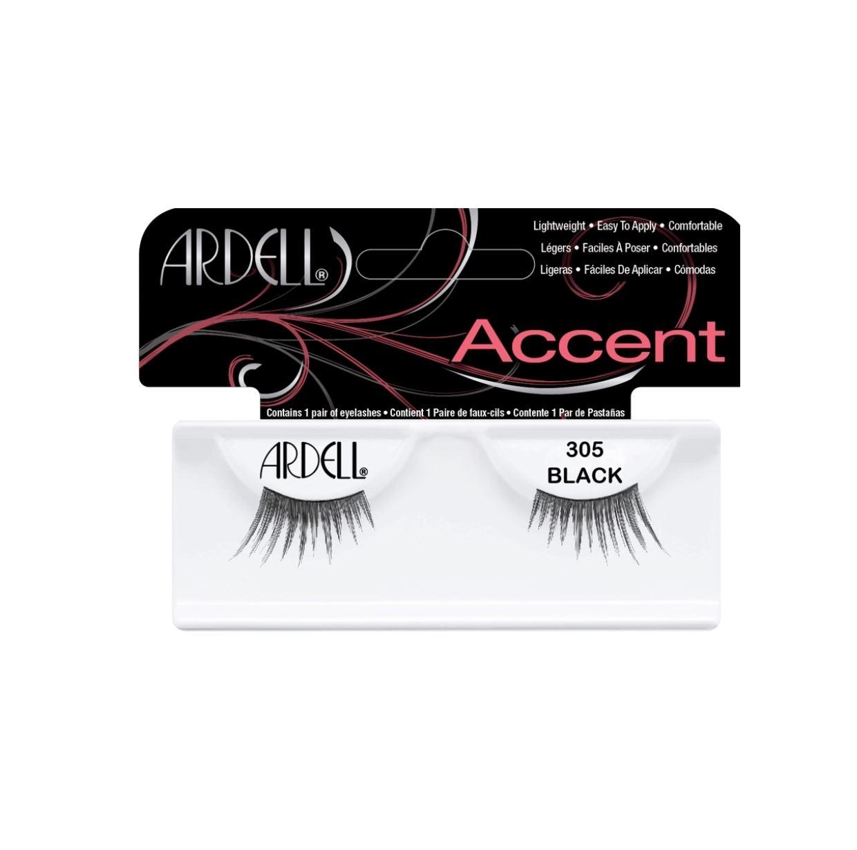 f1503b11ed3 Ardell 100% Human Hair False EyeLashes Accent Petite Half Lashes 305 Dense  Thick