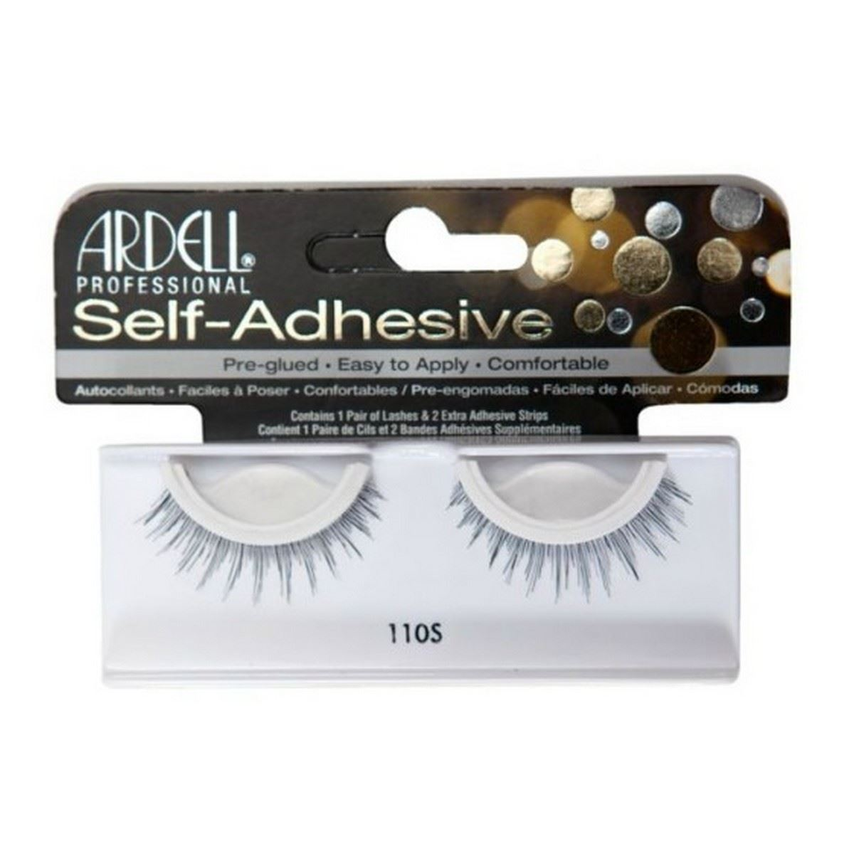 28091e165cc Details about Ardell SELF ADHESIVE Style 110S False Eyelashes - Premium  Quality Fake Lashes!