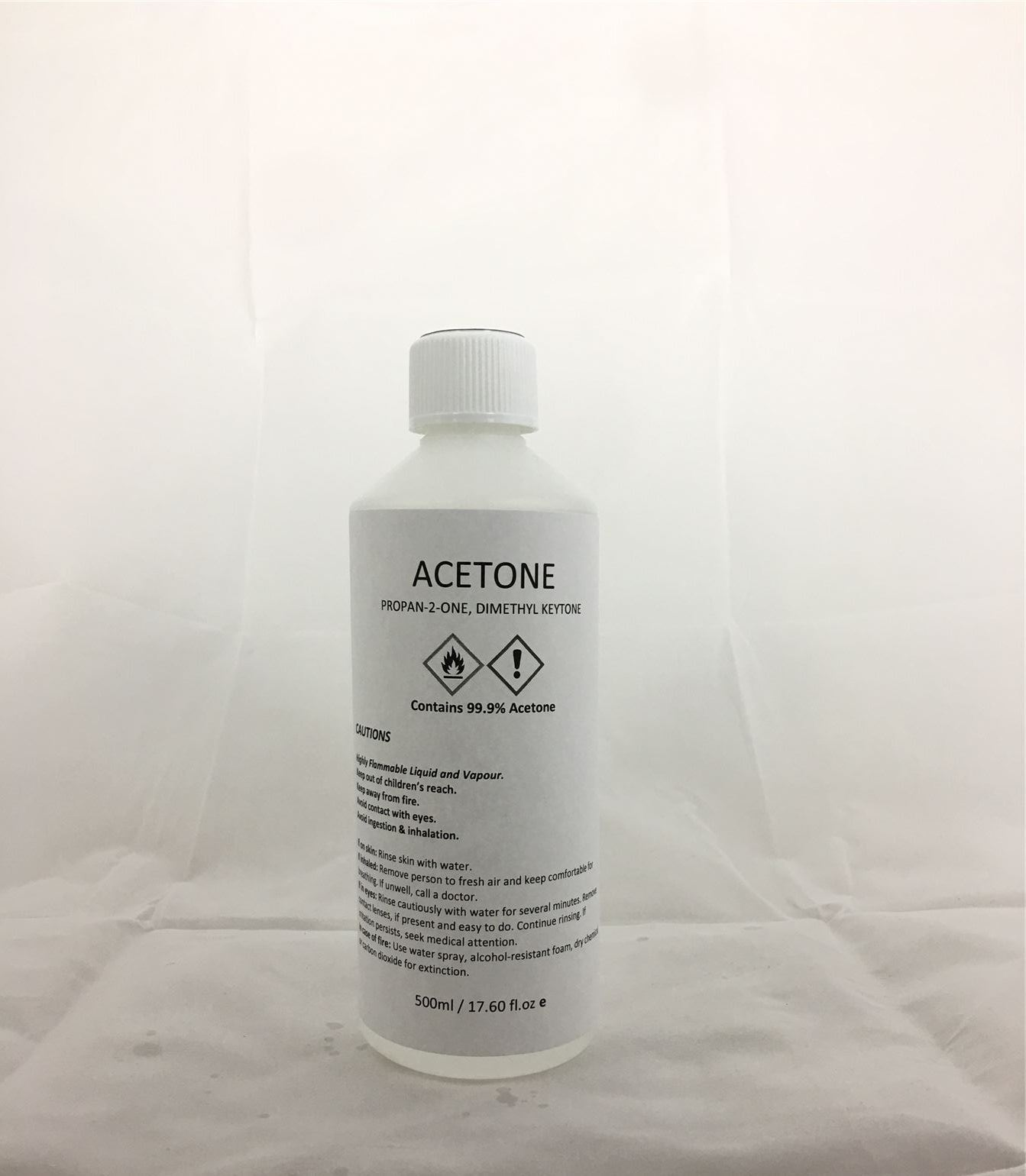 Details about Acetone 99 9% Pure High Quality ACS/Lab Grade Nail Varnish  Remover 500ml Size