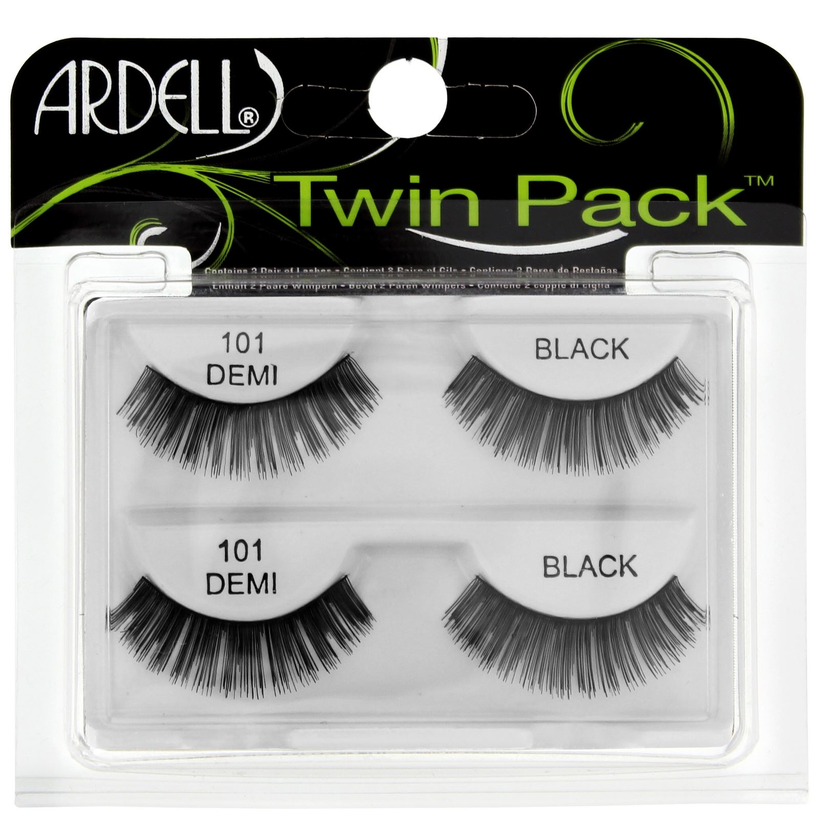 ca01e8bfc39 Ardell Twin Pack Lash 101 Demi Black - Premium Quality Fake Lashes ...