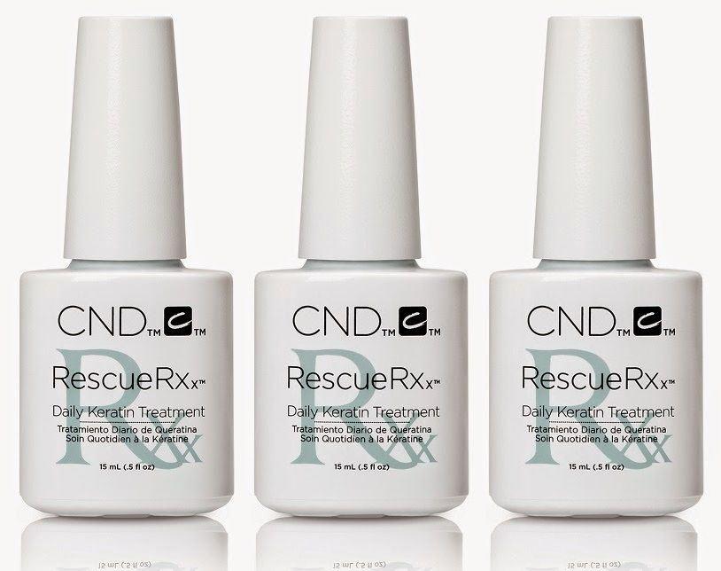 100% AUTHENTIC CND RESCUE RXx DAILY KERATIN NAIL TREATMENT ...