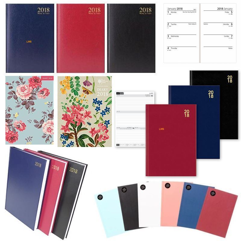 2018 diary a4 a5 a6 week to view page a day to view office