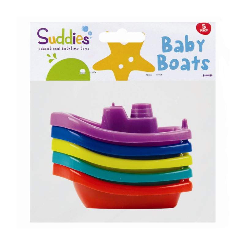 5pc Baby Bath Time Floating Boat Toy Infant Toddler Children Floats ...