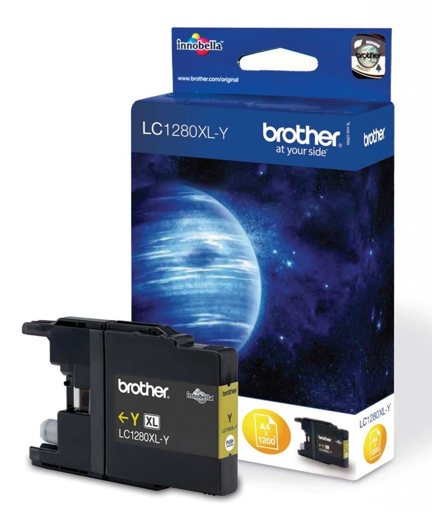 Brother Extra Large Yellow Ink LC125XLY for DCP J4110DW MFC J4510DW J4710DW