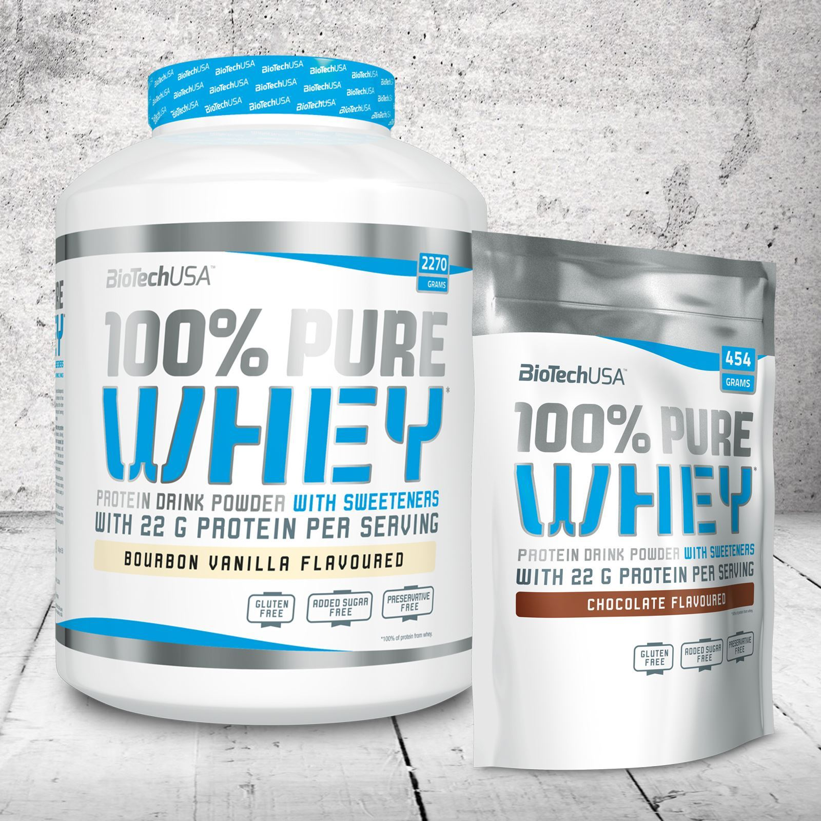 BIOTECH USA 100% PURE WHEY PROTEIN 2724g WPC GLUTEN-FREE WPC 2724g EXTRA AMINO ACIDS f9ace7