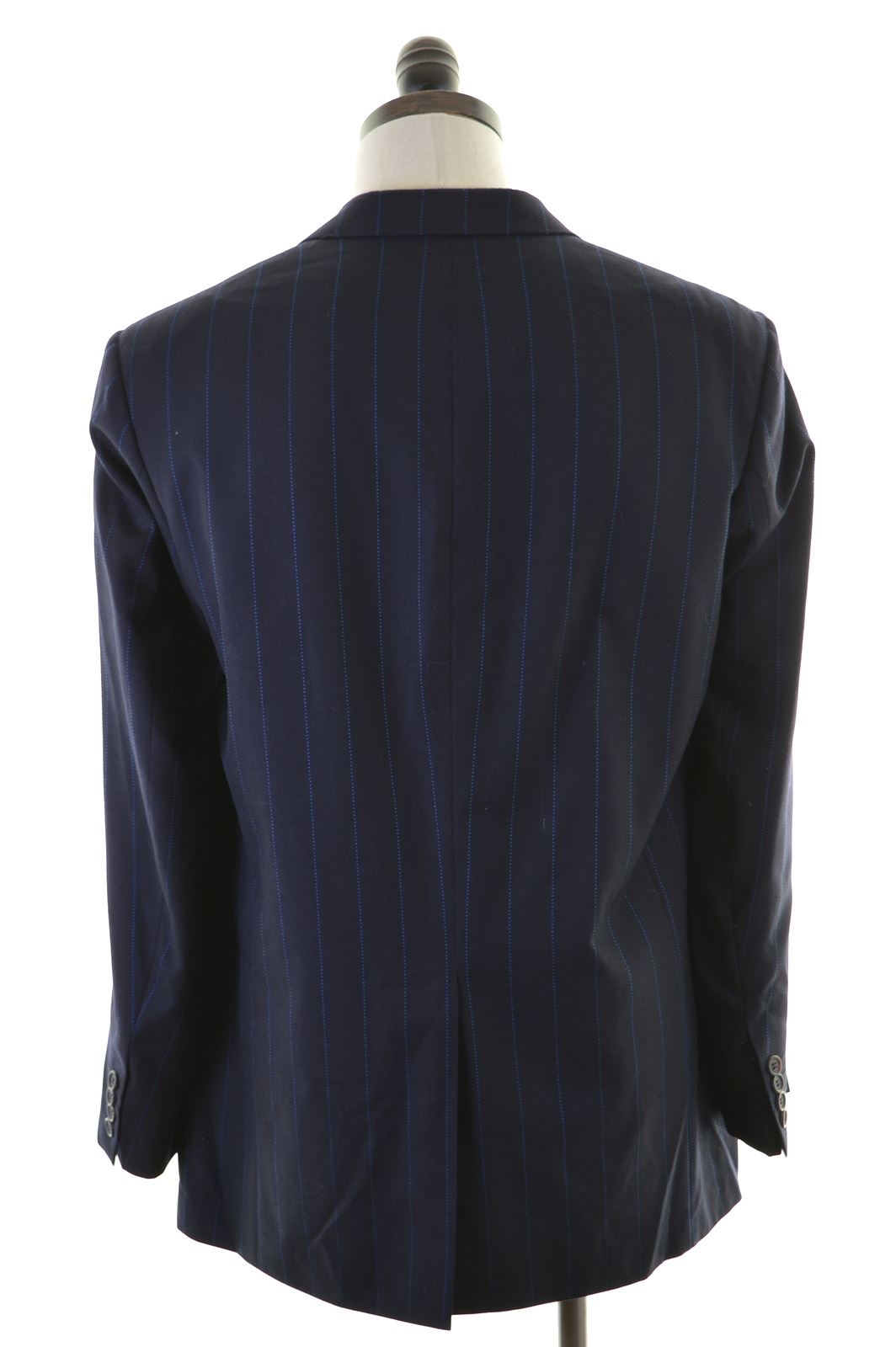 0cef0ab8dbe5d TED BAKER Mens 3 Button Blazer Jacket Size 42 XL Navy Blue Wool AQ02 ...