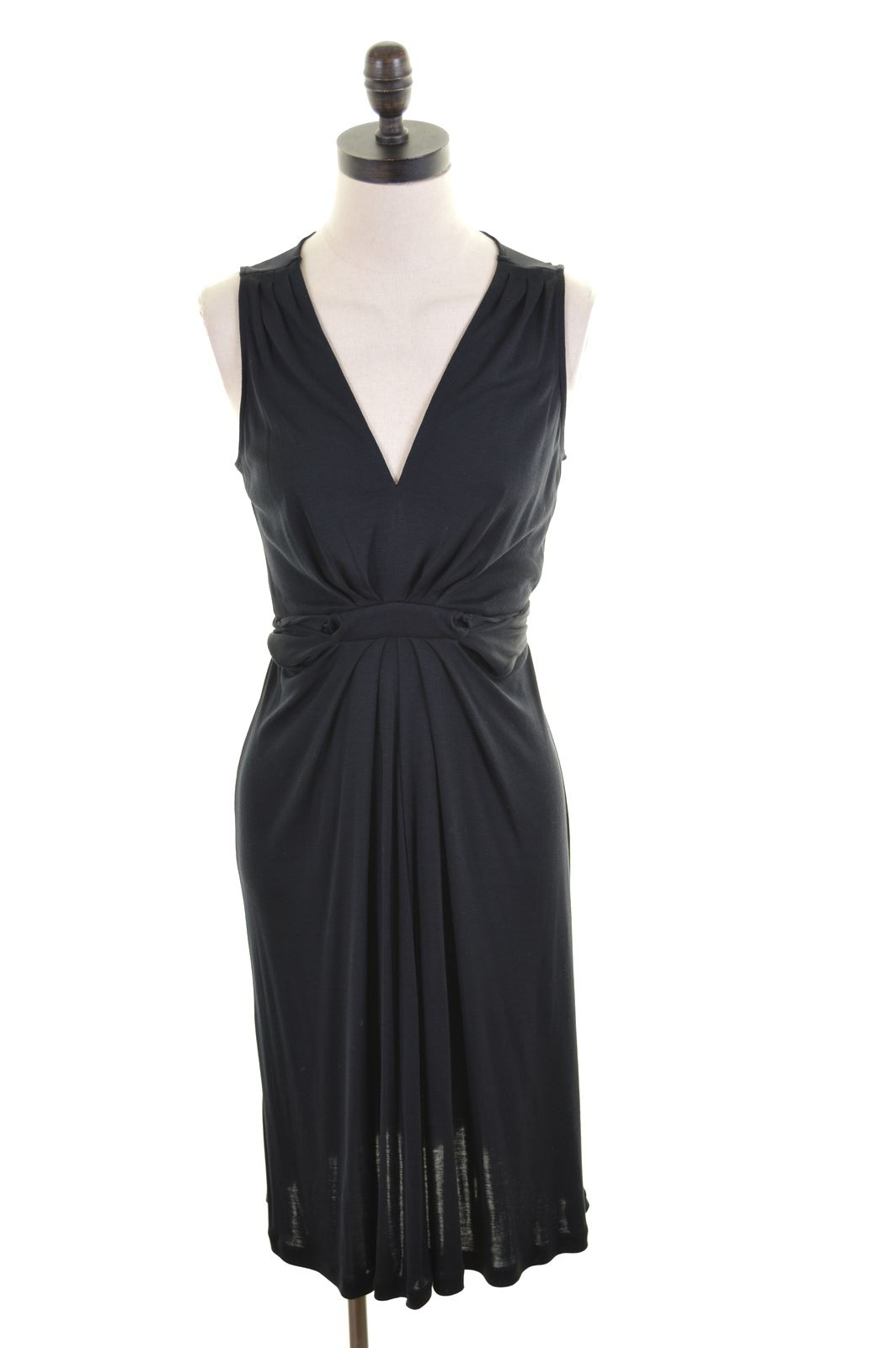 Banana Republic Womens Wrap Dress Size 12 Medium Black