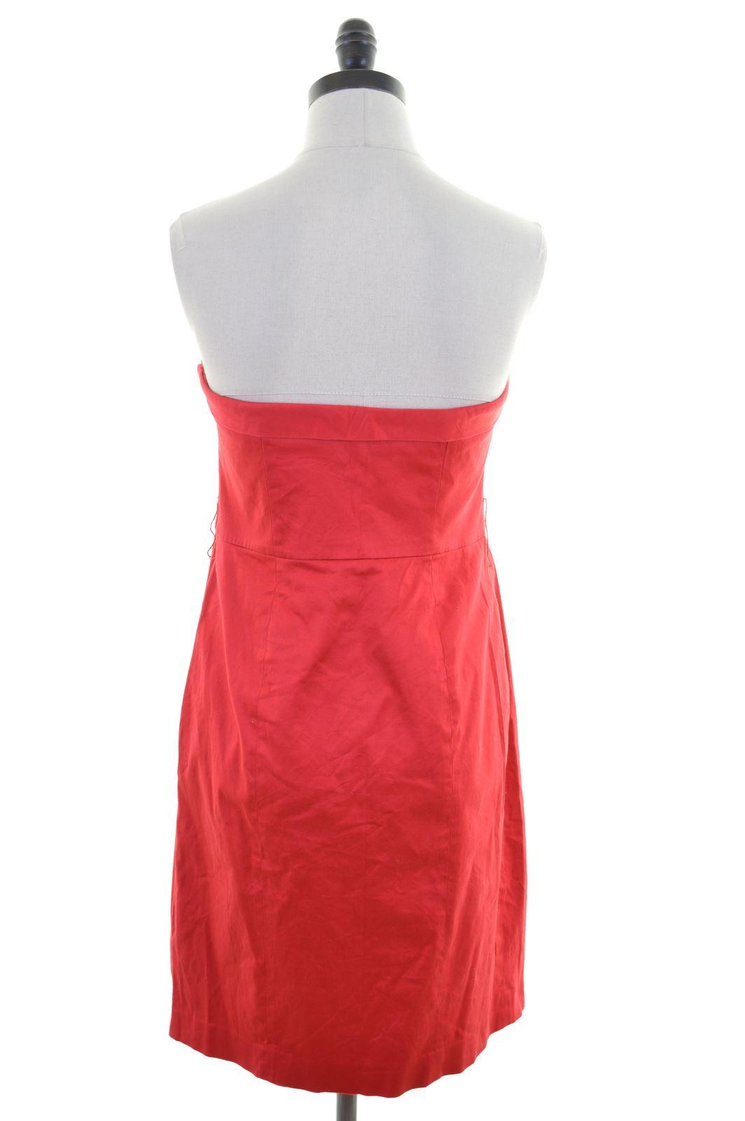 COAST Womens Strapless Dress Size 14 Large
