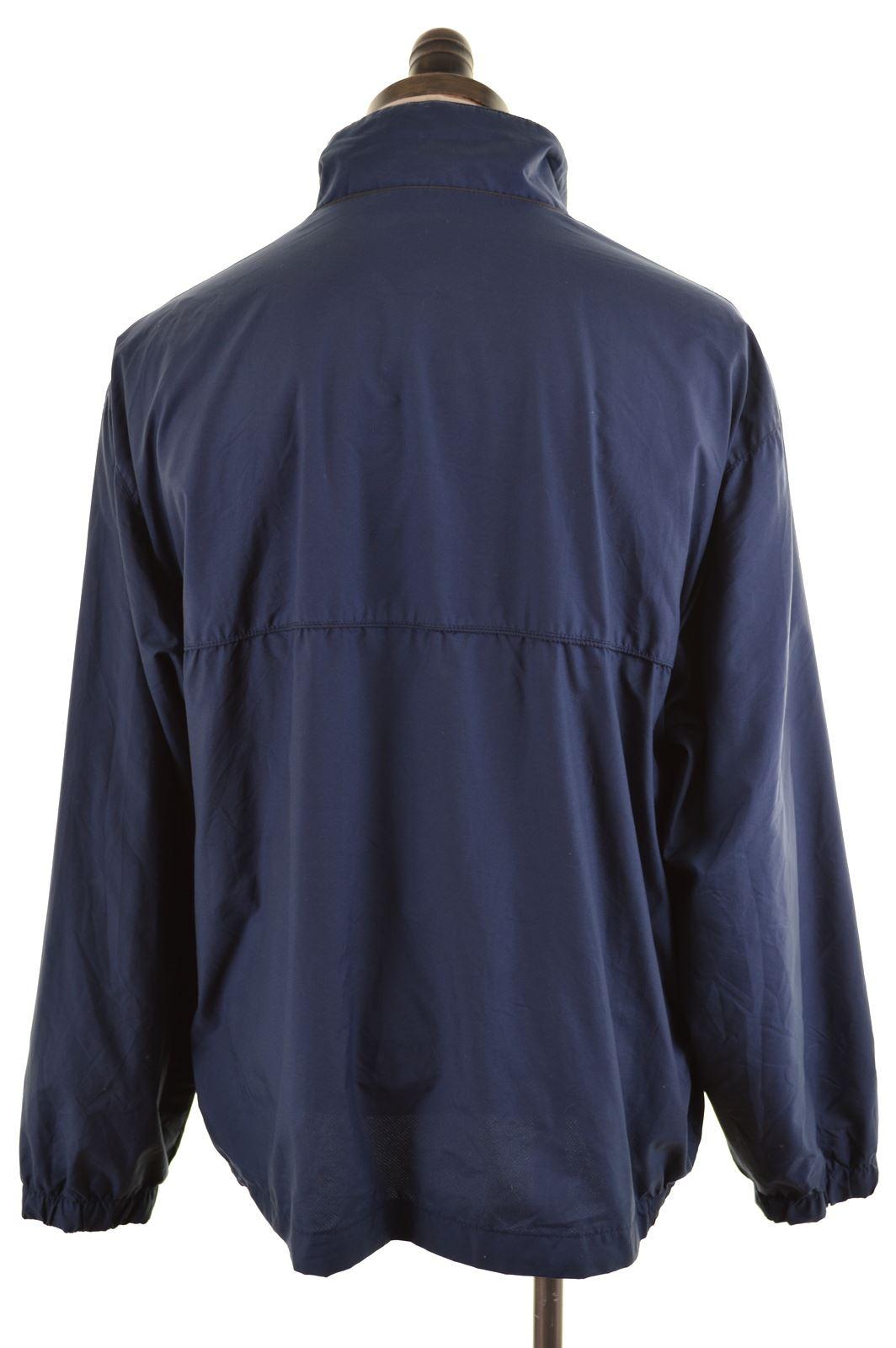 06b97845 HELLY HANSEN Mens Bomber Jacket Size 42 XL Navy Blue Nylon HO18 | eBay