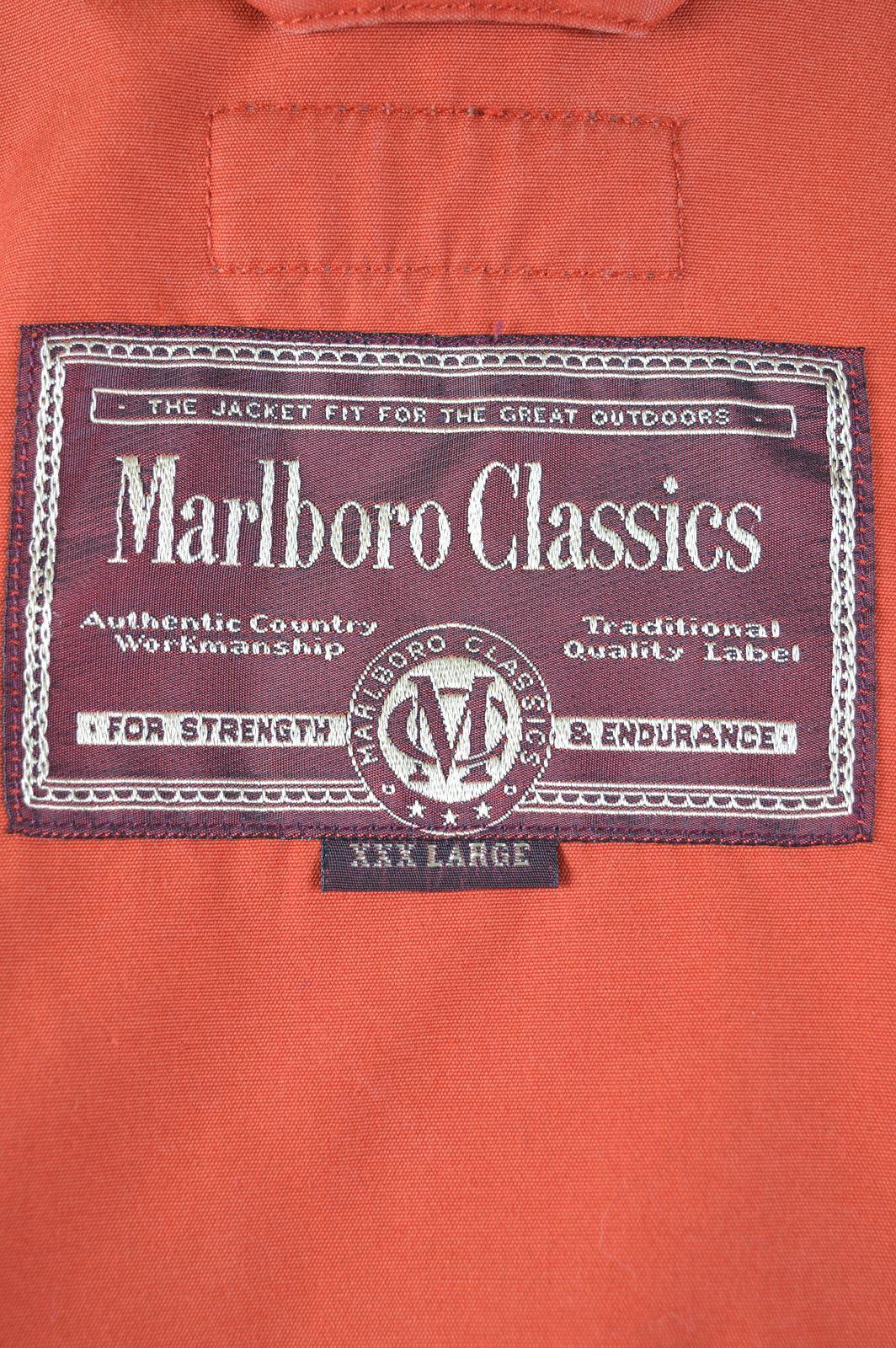 Size 3xl Classics Marlboro Jacket Harrington Er06 Orange Cotton Vintage Mens 50 ISIqwf
