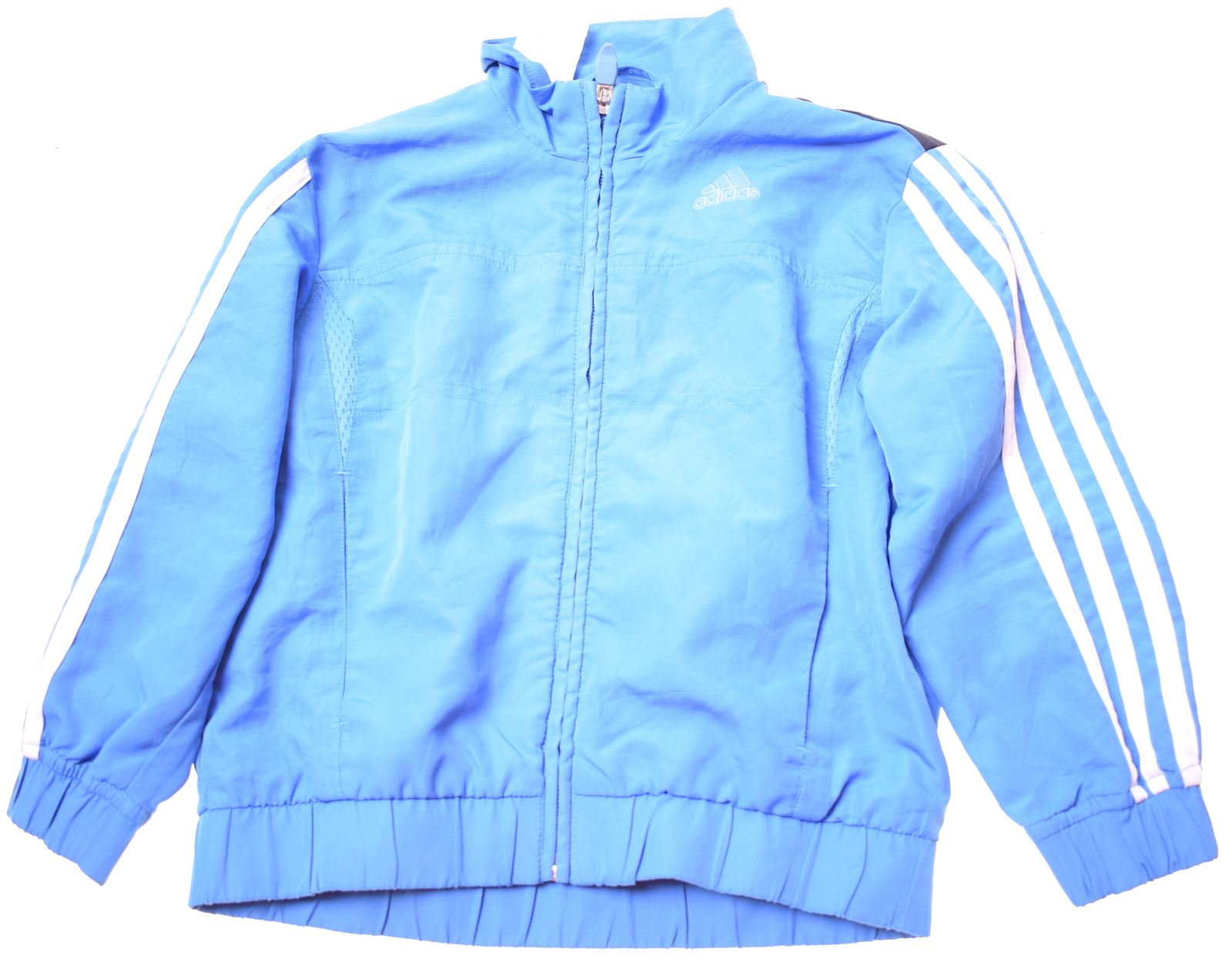 Détails sur Adidas Garçons Survêtement Haut Veste 2 3 ans polyester bleu BS04 afficher le titre d'origine