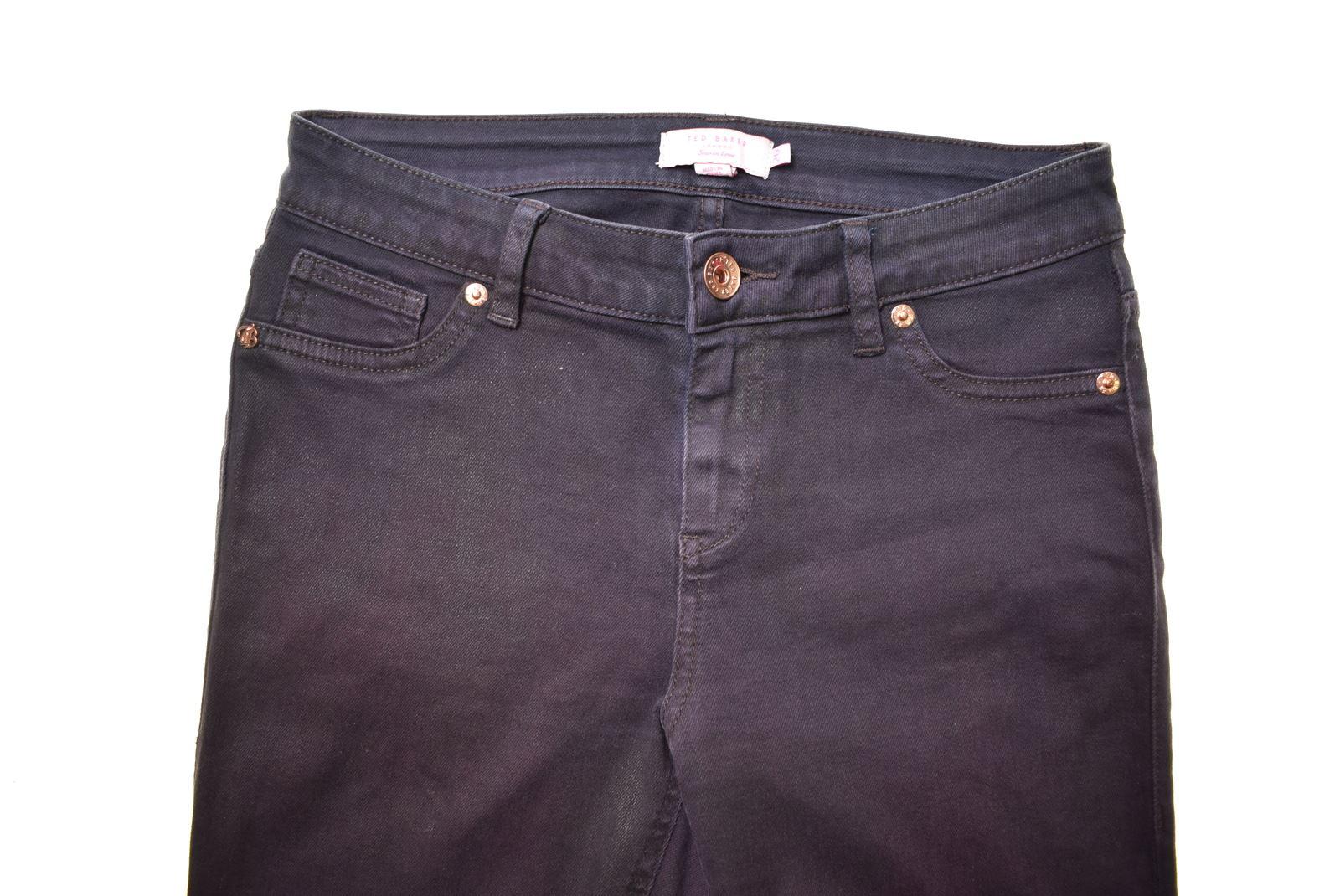 f62e5333 TED BAKER Womens Jeans W26 L29 Purple Cotton Skinny EY07 | eBay