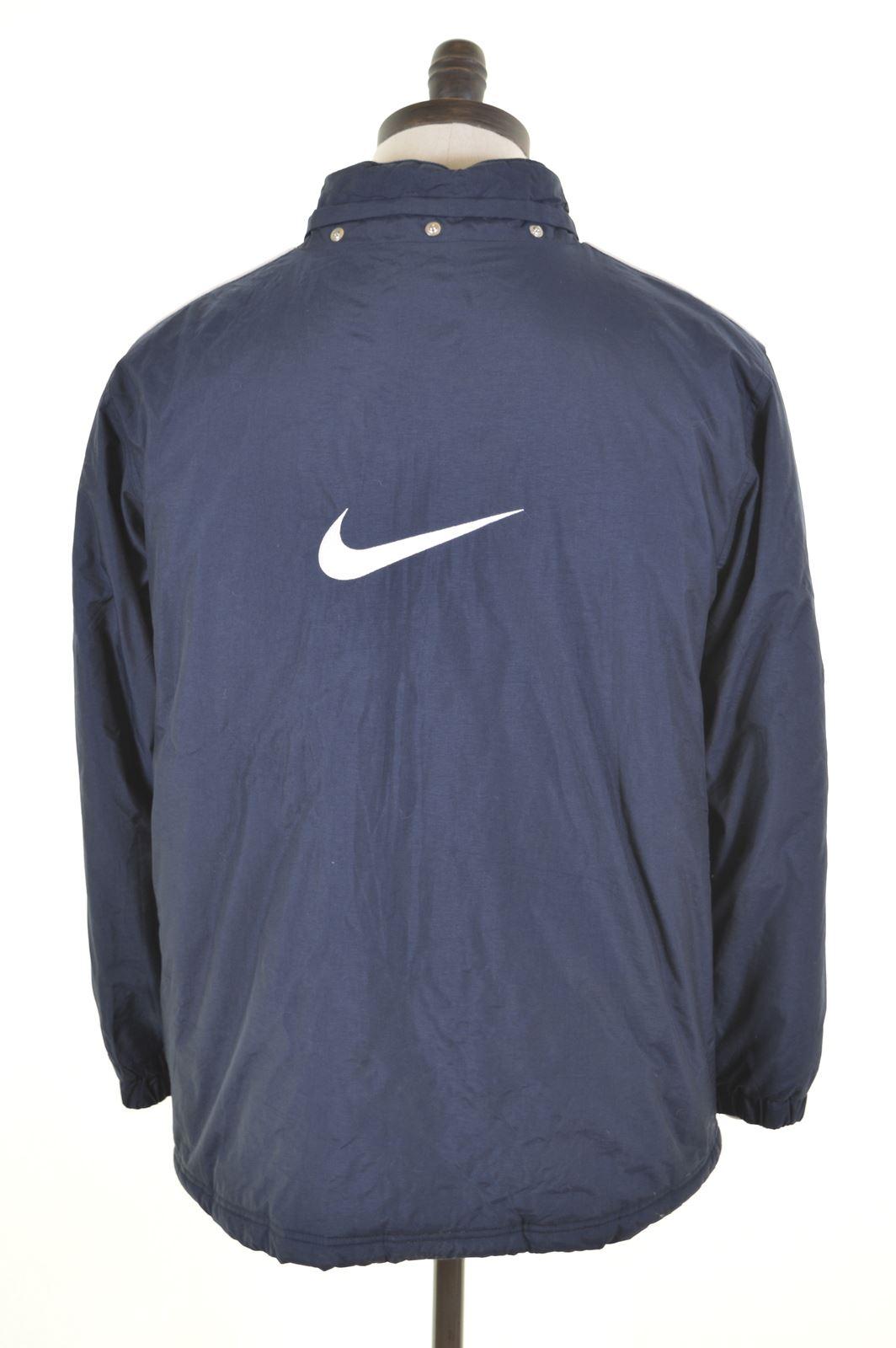 b0411d96f NIKE Boys Padded Jacket 13-14 Years XL Blue Nylon GZ05 | eBay