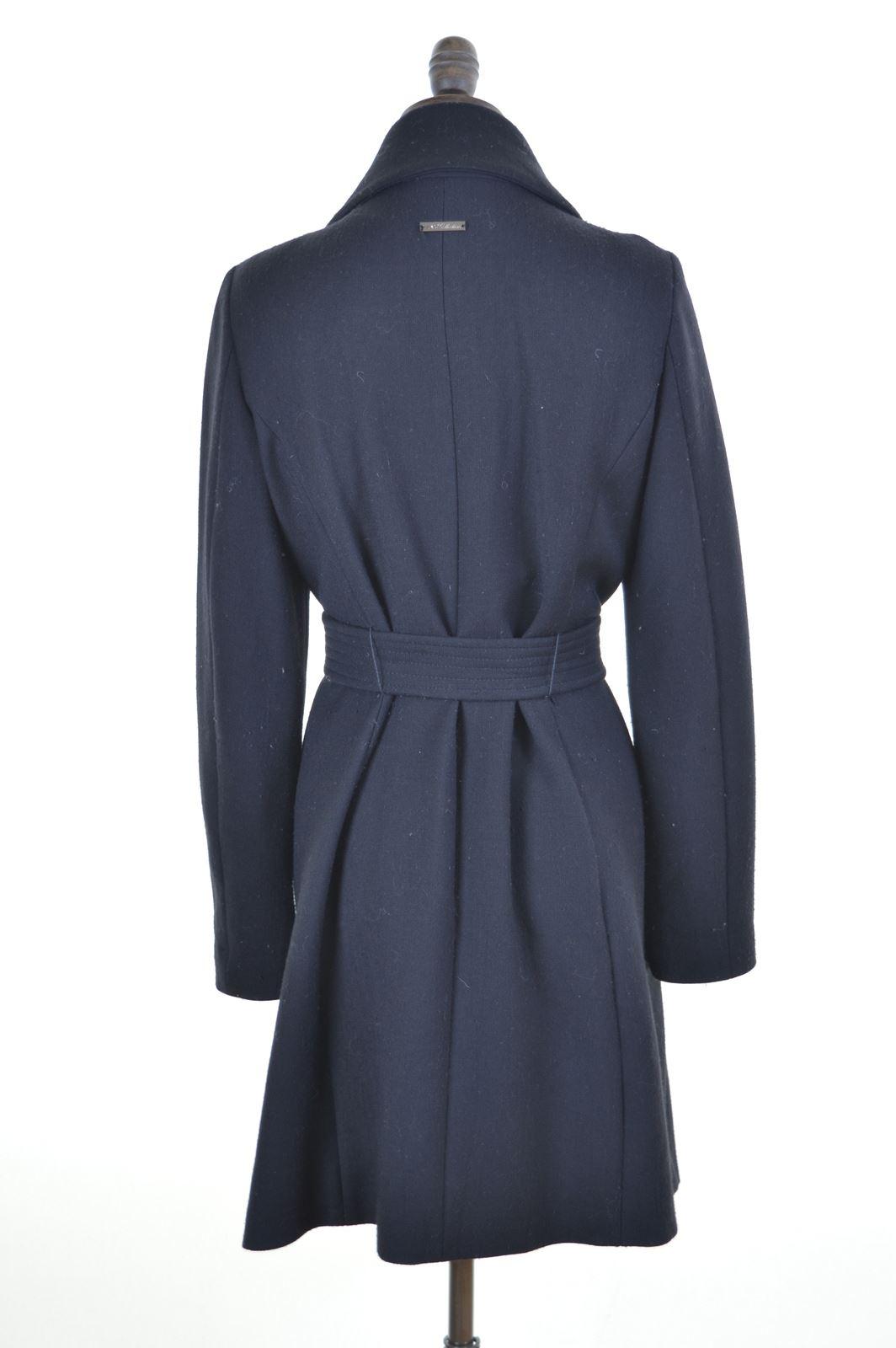LIU JO Womens Coat Size 18 XL Black Wool  95b783ca9cb