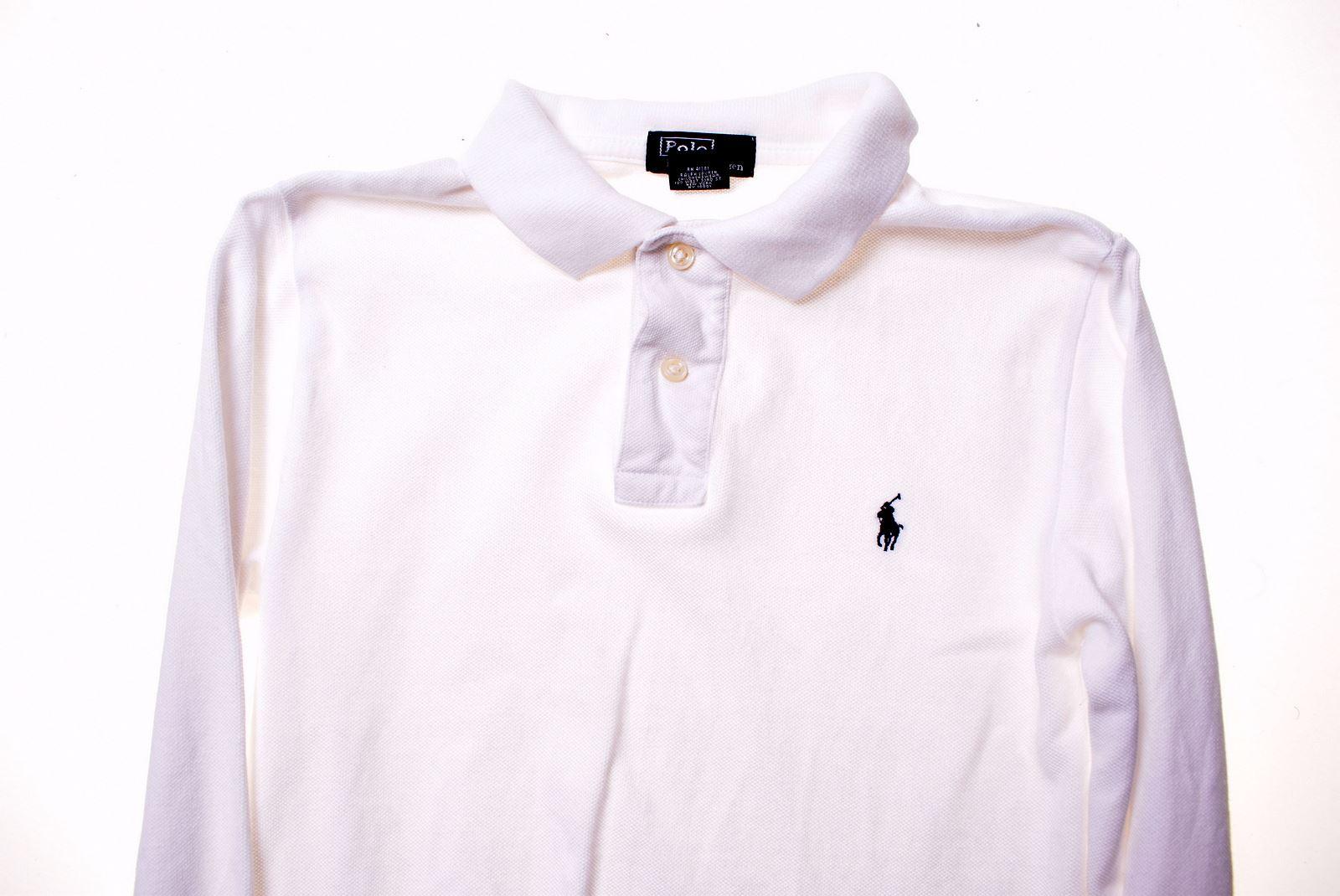 Ralph Lauren Boys Teenage Unisex Long Sleeve T Shirts Tops Soft Cotton 2-20 Year