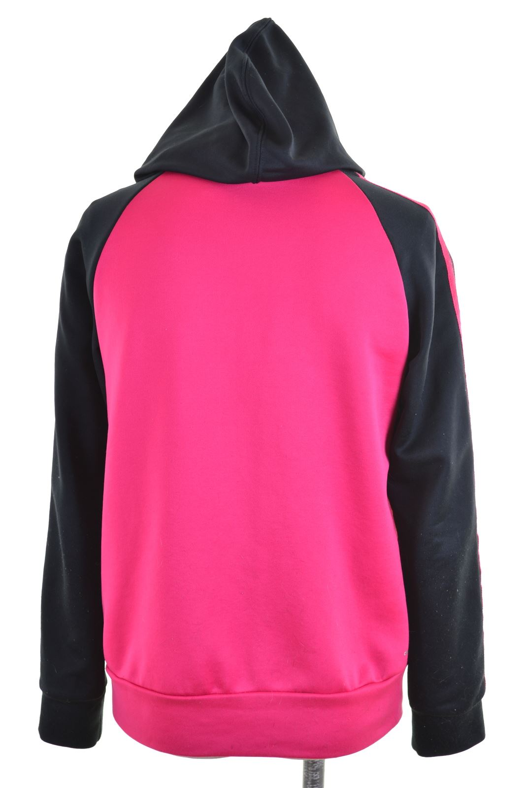 a5320f722f61 ADIDAS Womens Hoodie Sweater UK 10 Small Pink Polyester Vintage FN02 ...