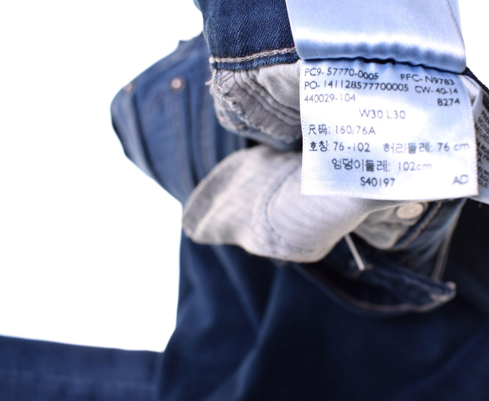 LEVI'S Womens Jeans W30 L30 Blue Cotton Bootcut Demi Curve