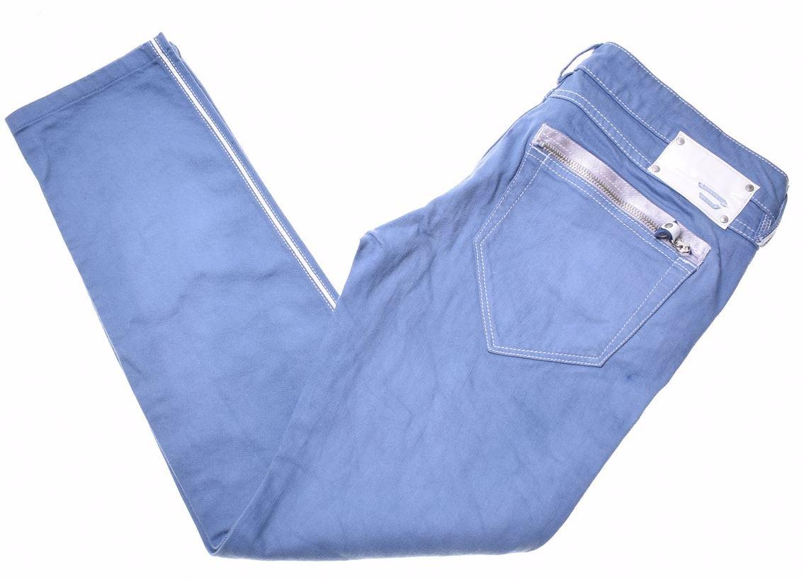 b8da178b DIESEL Womens Jeans W31 L34 Blue Cotton Skinny Clush Stretch KN17 | eBay