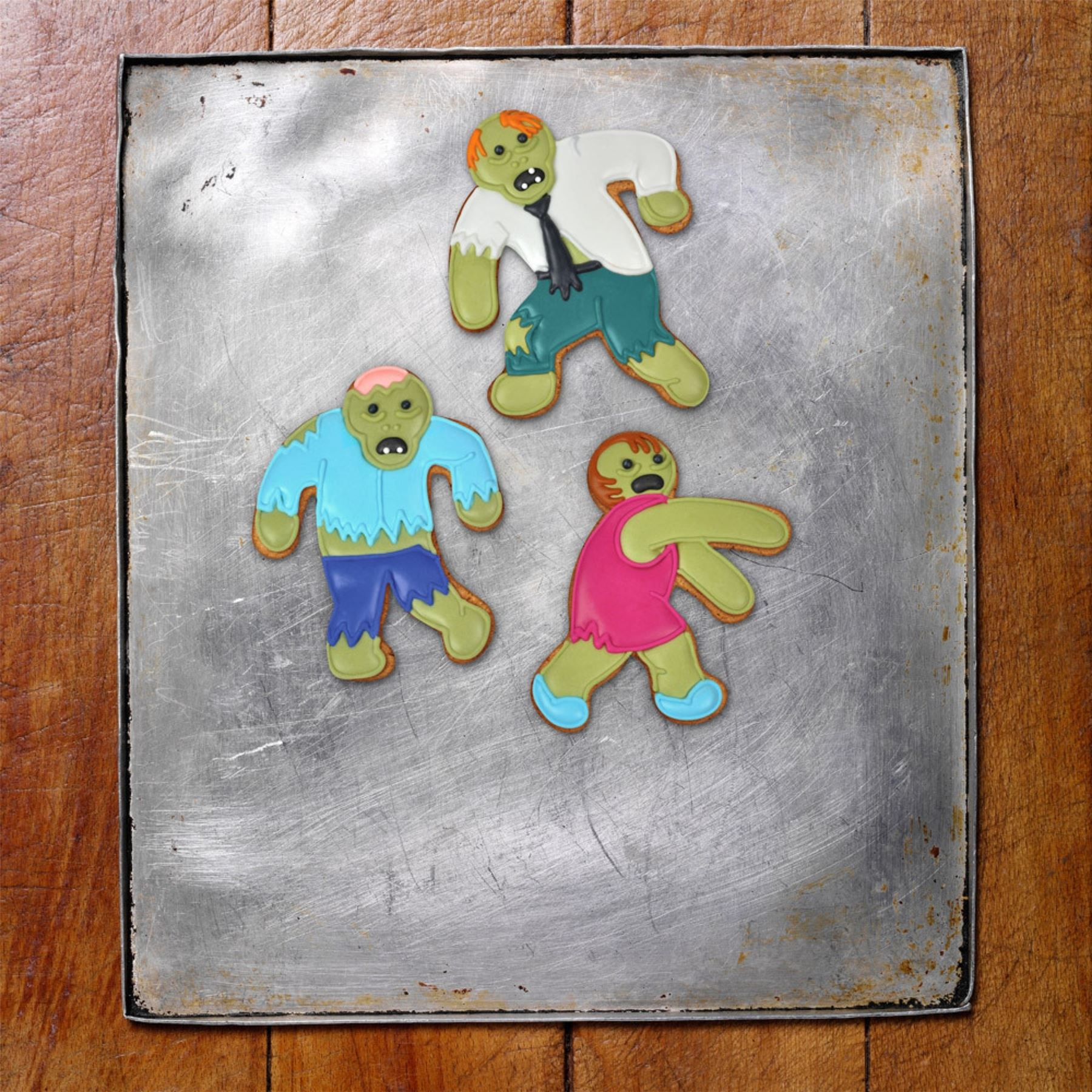 Fred-Undead-Baking-Dead-Zombie-Design-Gingerbread-Cookie-Cutters thumbnail 3