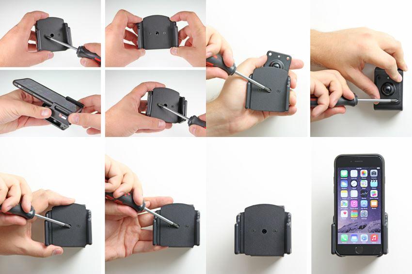 brodit 511666 passive halter auto halterung f r apple. Black Bedroom Furniture Sets. Home Design Ideas