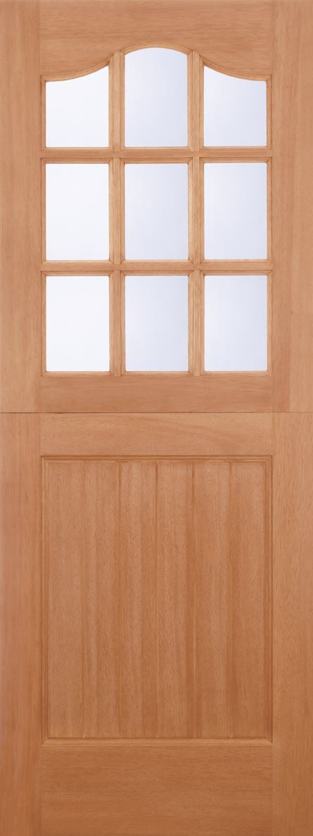 Hardwood Mt Wooden External Exterior Stable Clear Double Glazed