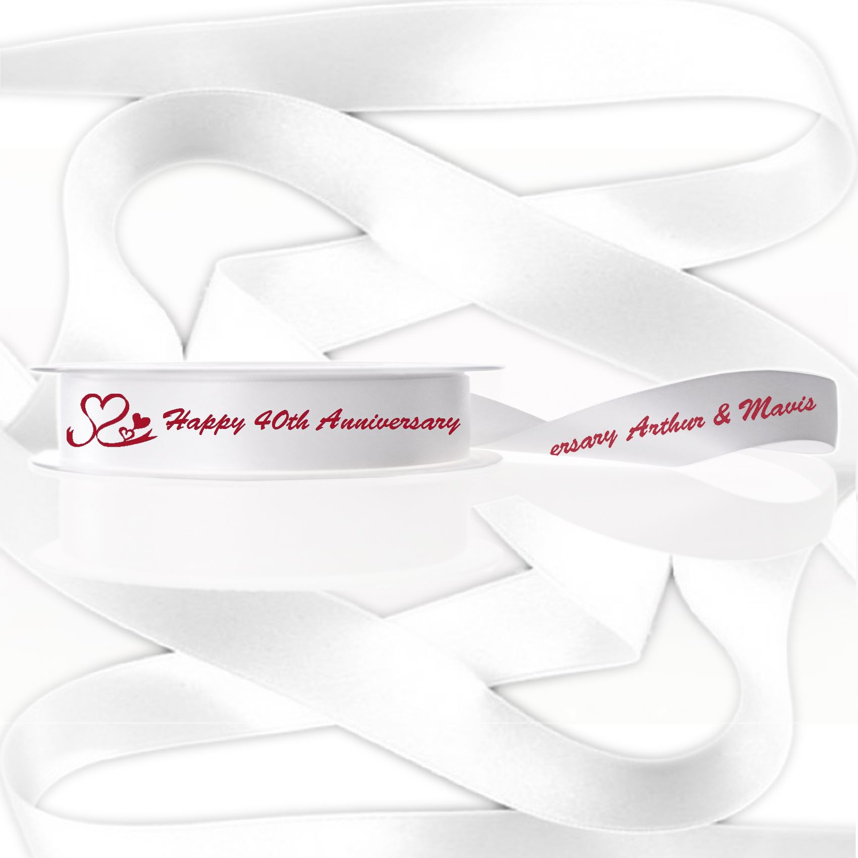 9ec503f6b Personalised Wedding 25th   30th   40th   50th   60th Anniversary ...