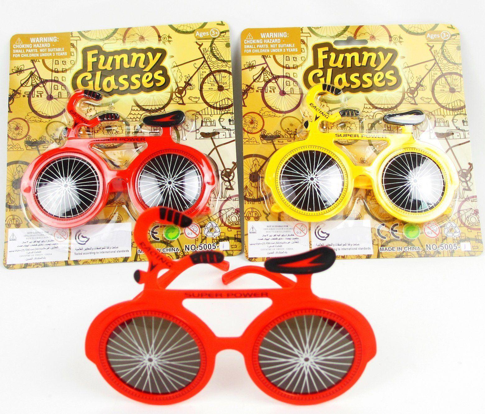thumbnail 49 - Glasses Joke Sunglasses Fancy Dress Costume Party Fun Photo Booth Prop 1-12Pcs