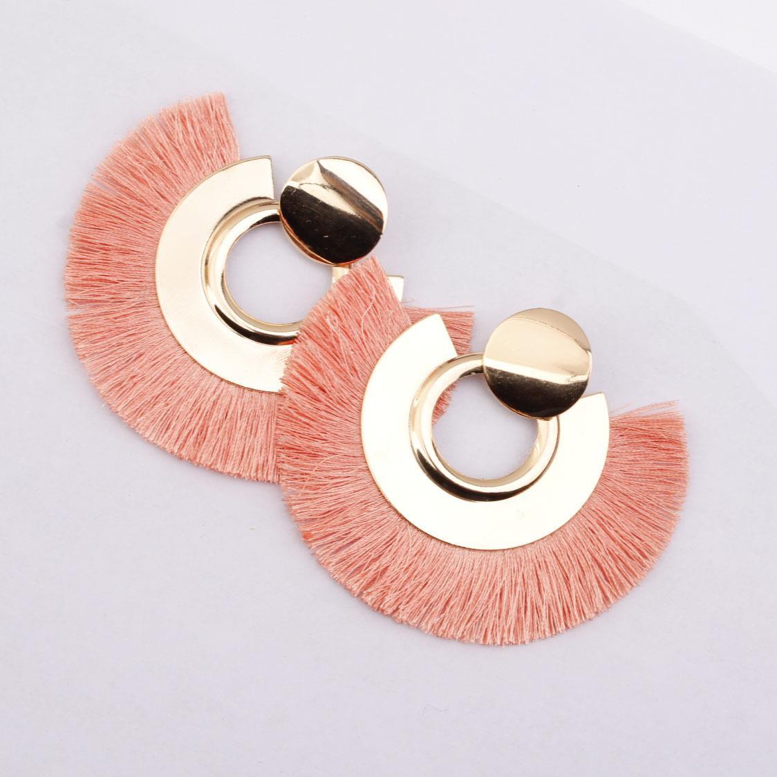 Women-Fashion-Rhinestone-Long-Tassel-Dangle-Earrings-Fringe-Drop-Jewelry-Gift-UK thumbnail 174