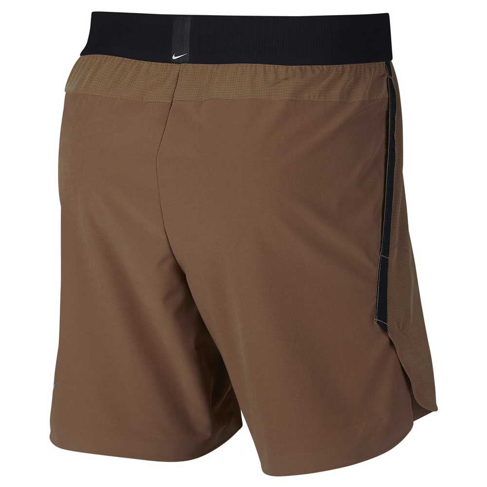 Details about Nike Limited Edition Mens Flex Repel Shorts Wit Fitness Brown Small RRP£74.95