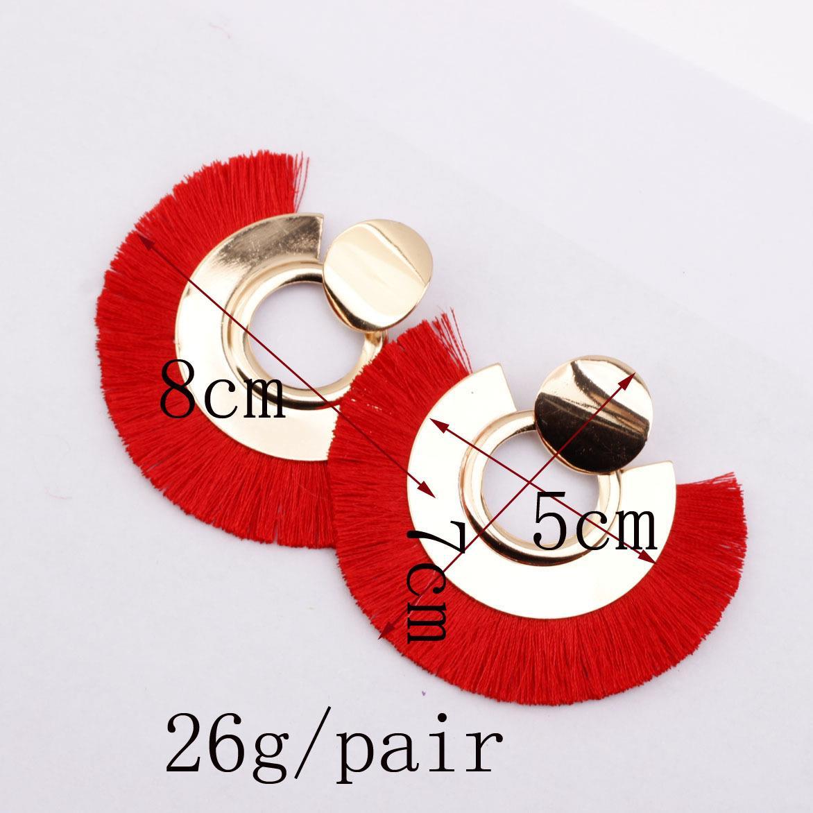 Women-Fashion-Rhinestone-Long-Tassel-Dangle-Earrings-Fringe-Drop-Jewelry-Gift-UK thumbnail 179