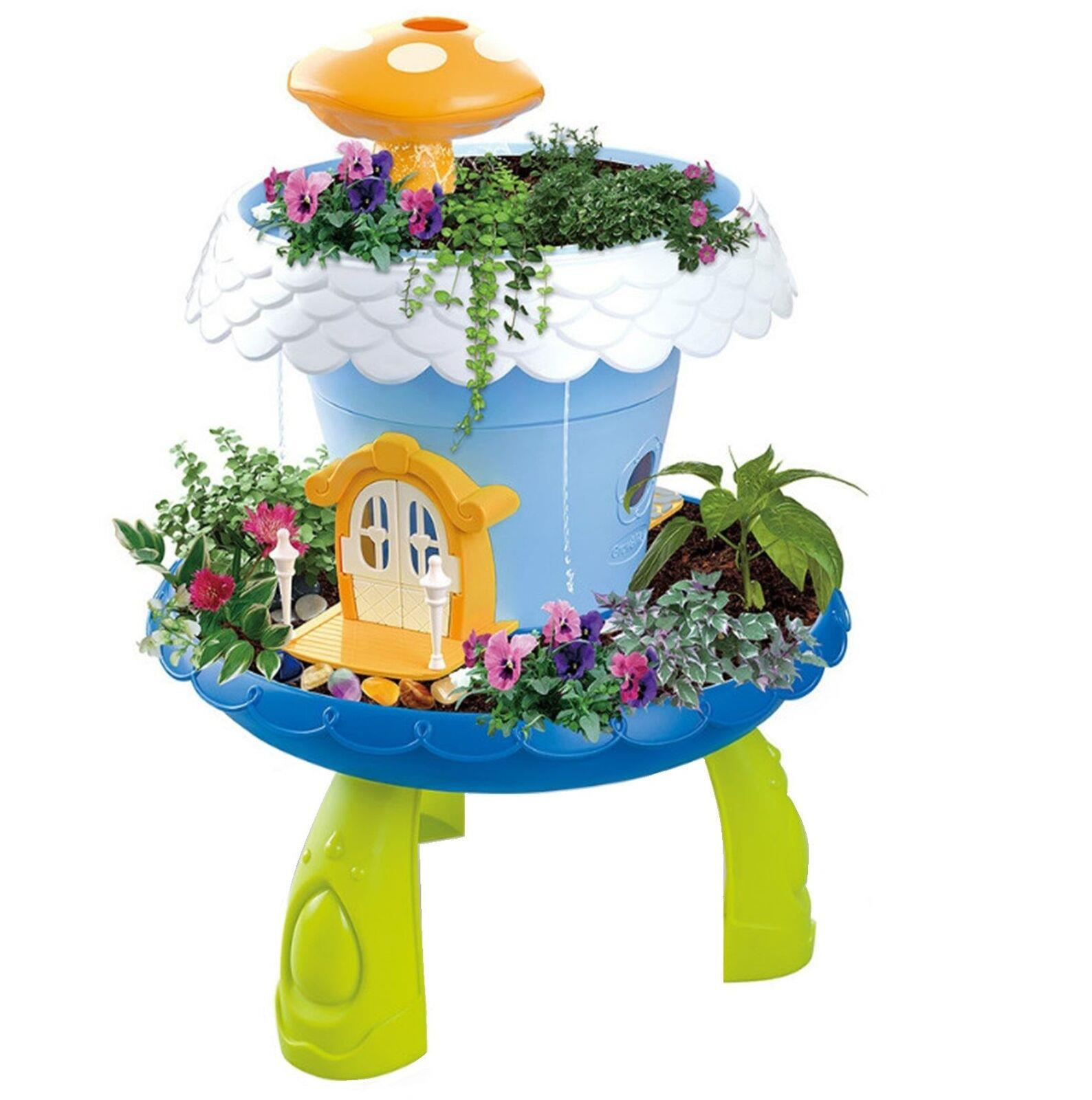 Fairy Tale Garden Magical Cottage DIY Kids Educational Interactive Playset New