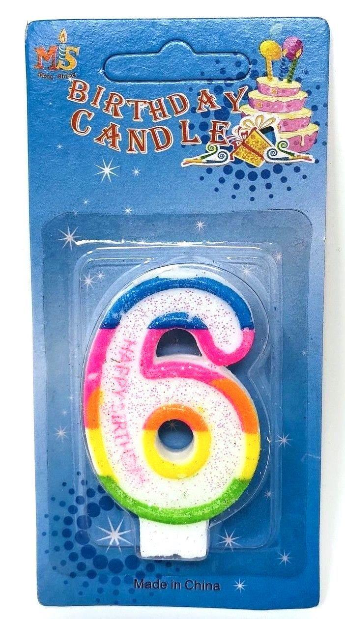 Birthday-Cake-Toppers-Number-Candles-Party-Candle-Numbers-Girl-1st-2nd-5th-10th thumbnail 16