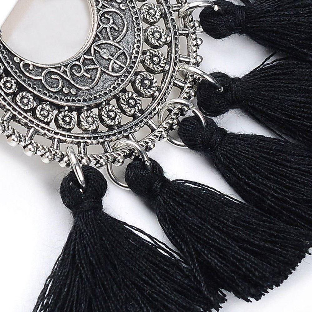 Women-Fashion-Rhinestone-Long-Tassel-Dangle-Earrings-Fringe-Drop-Jewelry-Gift-UK thumbnail 64