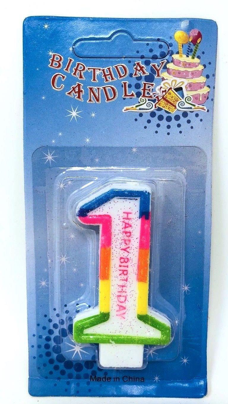 Birthday-Cake-Toppers-Number-Candles-Party-Candle-Numbers-Girl-1st-2nd-5th-10th thumbnail 6