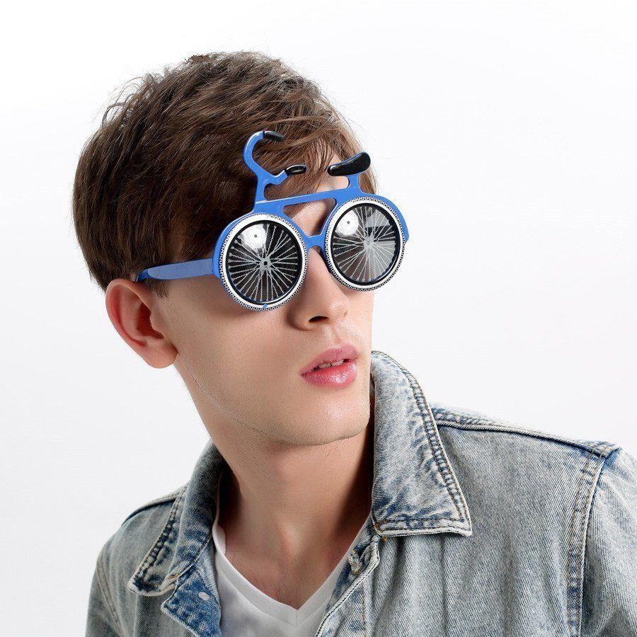 thumbnail 38 - Glasses Joke Sunglasses Fancy Dress Costume Party Fun Photo Booth Prop 1-12Pcs