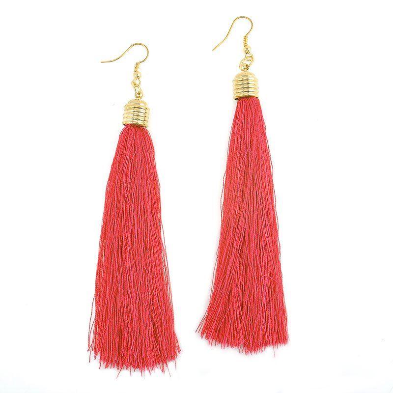 Women-Fashion-Rhinestone-Long-Tassel-Dangle-Earrings-Fringe-Drop-Jewelry-Gift-UK thumbnail 17