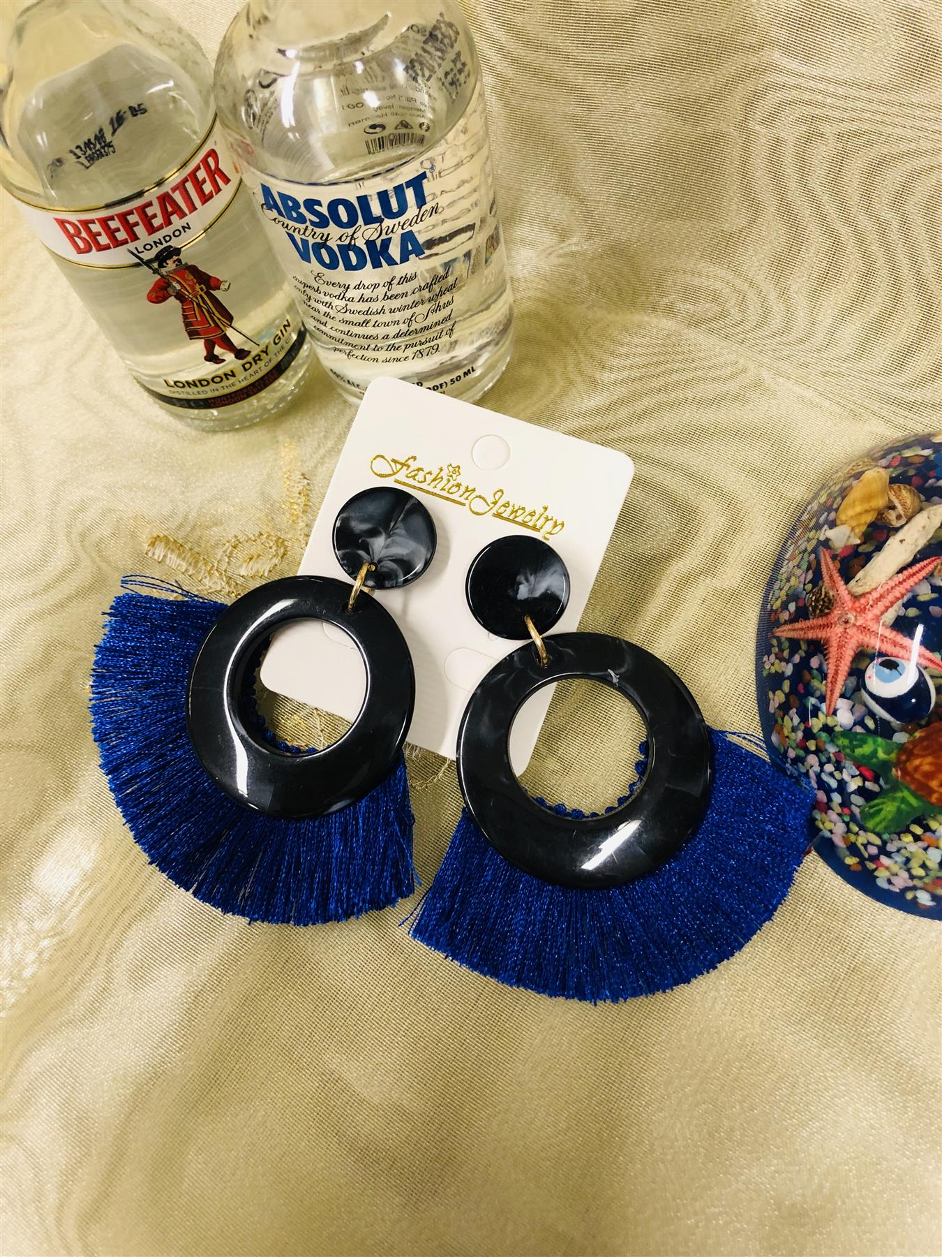 Women-Fashion-Rhinestone-Long-Tassel-Dangle-Earrings-Fringe-Drop-Jewelry-Gift-UK thumbnail 188