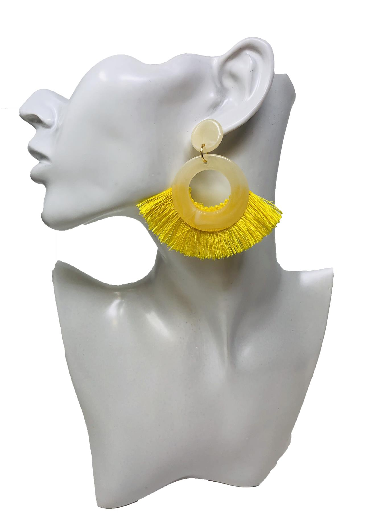 Women-Fashion-Rhinestone-Long-Tassel-Dangle-Earrings-Fringe-Drop-Jewelry-Gift-UK thumbnail 193